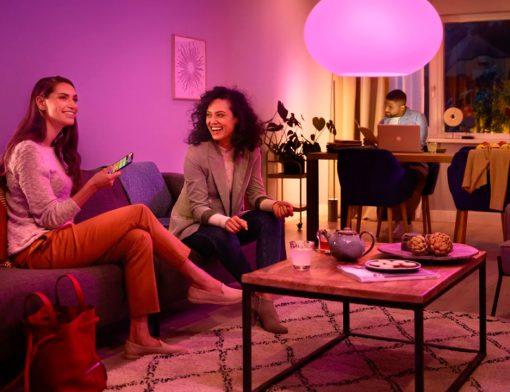 Luz para ambientes Imobiliária Habitar UFV Viçosa lâmpada inteligente